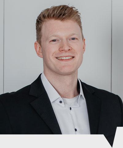 David Machulla ist Trainee bei CenMax Sales